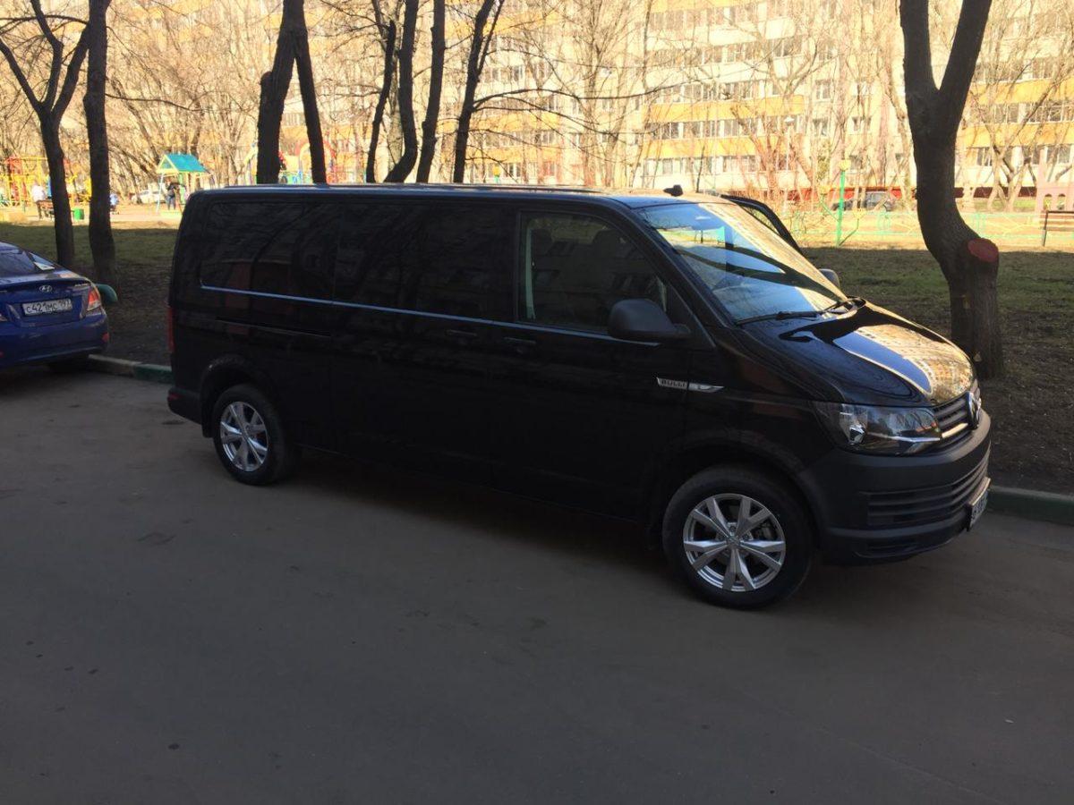 Такси Минивэн Фольксваген Каравелла Т6