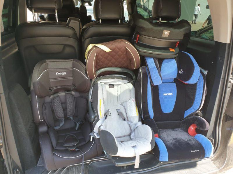 Такси Минивэн с детскими Креслами от Минивэн Сити