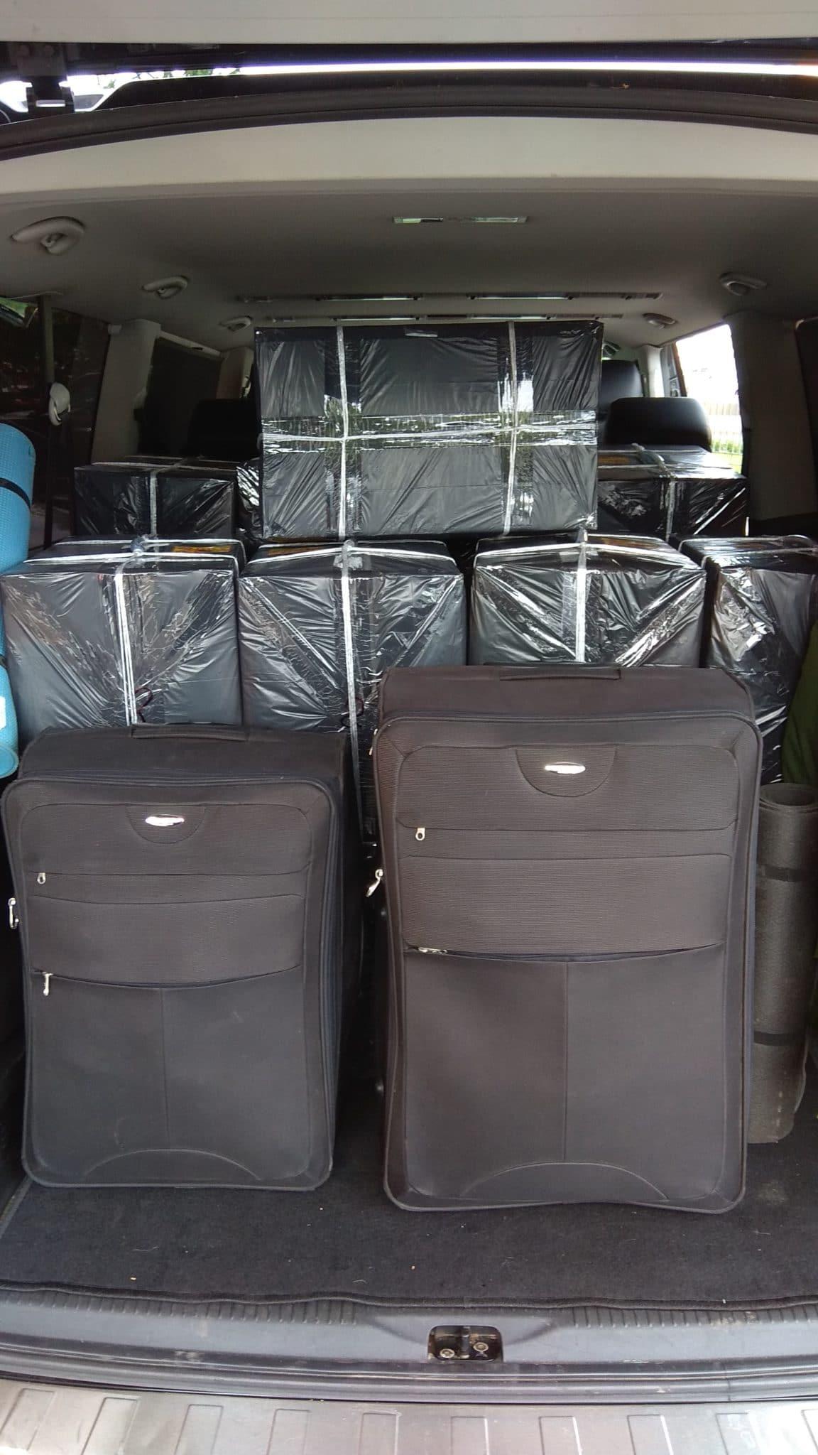 Такси Минивэн с большим багажником от Минивэн Сити