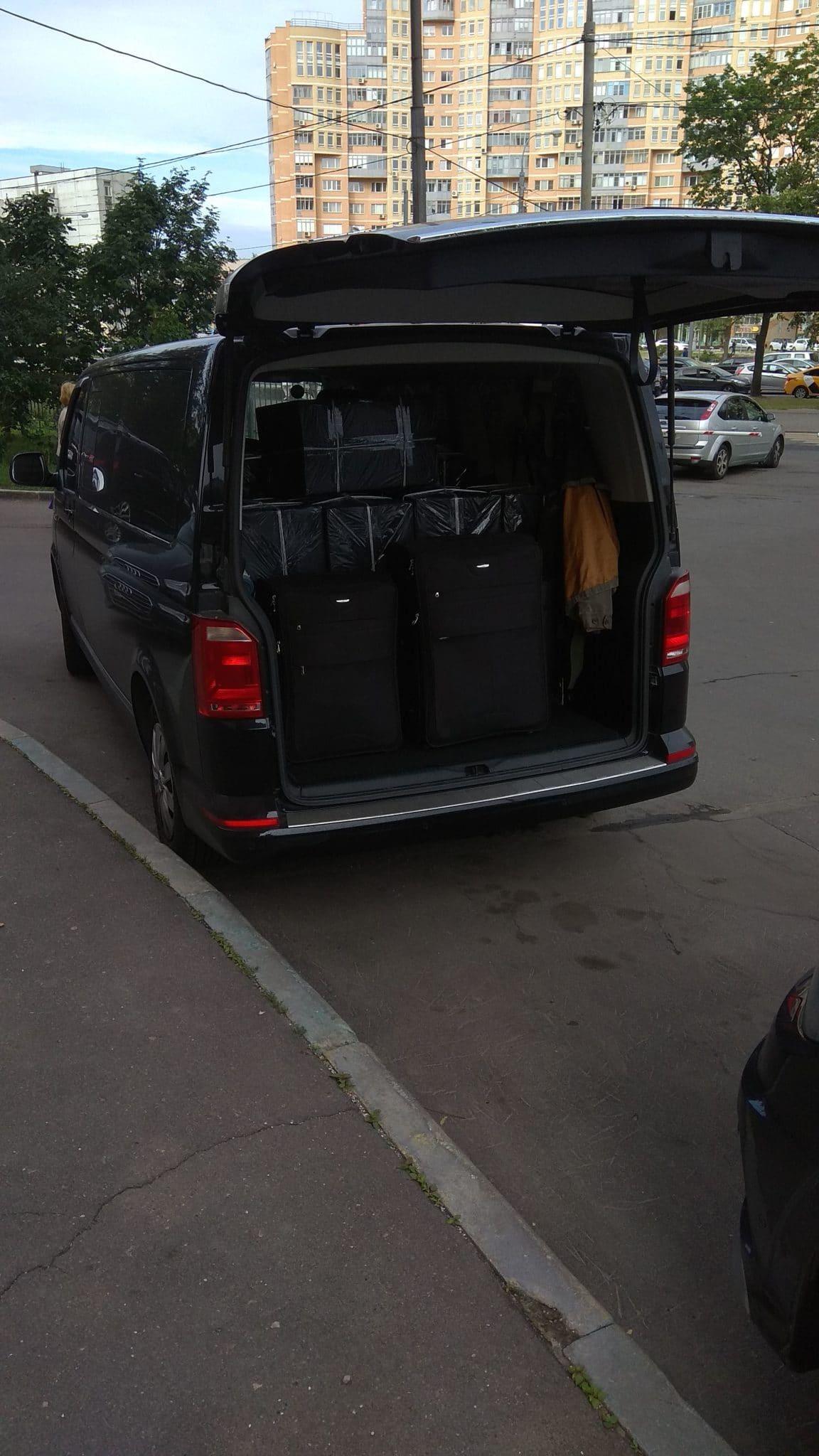 Такси Минивэн Каравелла Лонг с огромным багажником